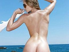 Nude ass beach